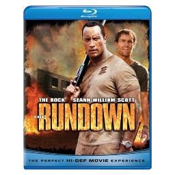 Rundown (blu ray) (eng sdh/fren/span/dts-hd) BR61106514