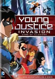 Young justice game of illusions-season 2 part 2 (dvd/2 disc/ff) D302837D