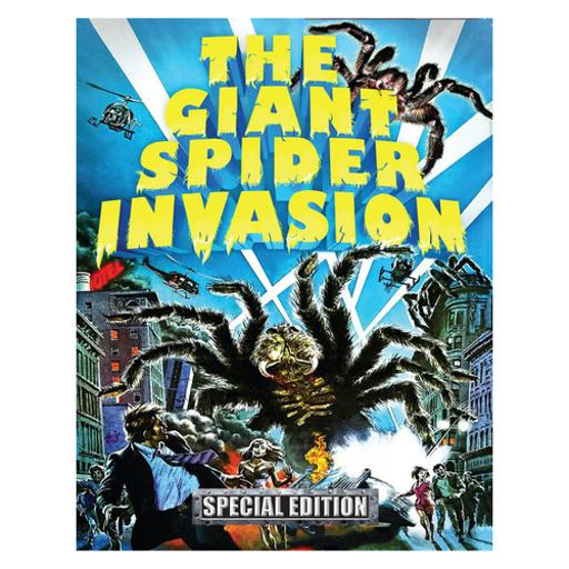 Giant spider invasion (blu-ray/dvd combo pack w/cd/3 disc/ws) 1289418