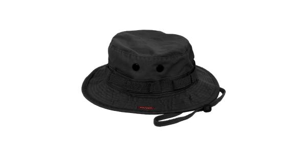 Rothco Military Vintage Style Boonie Hat Black