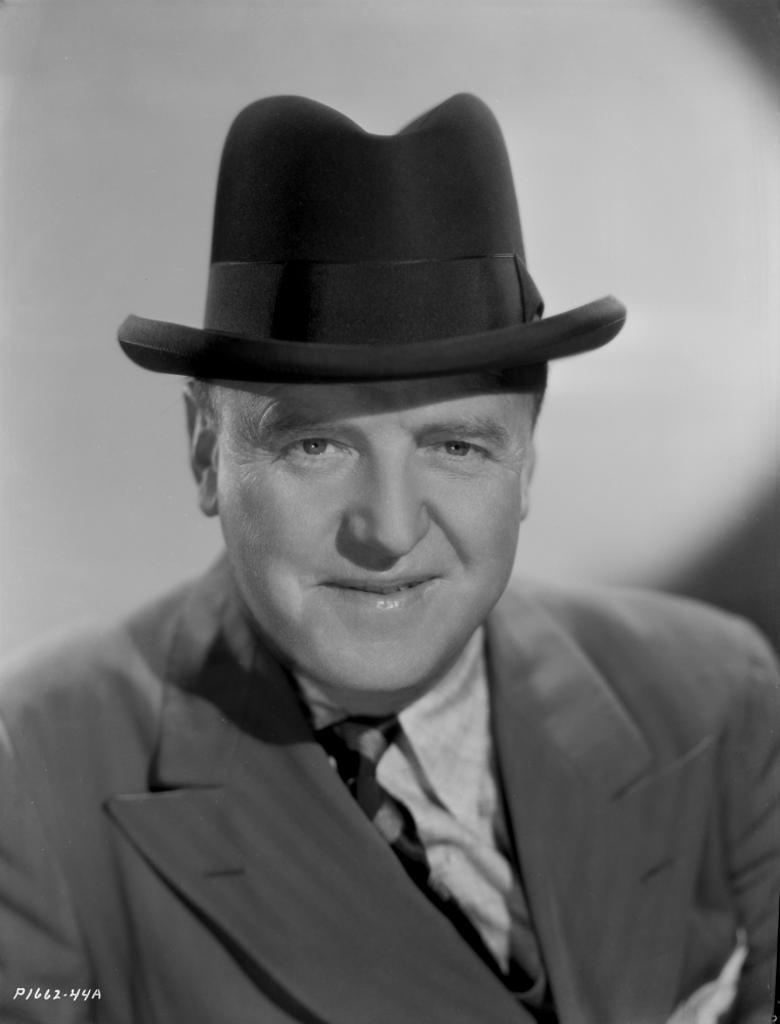 A Portrait Of William Frawley Photo Print
