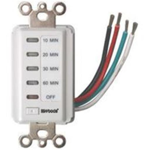 Coleman Cable Inc. Timer Wall 60Min Countdown Wht 59008