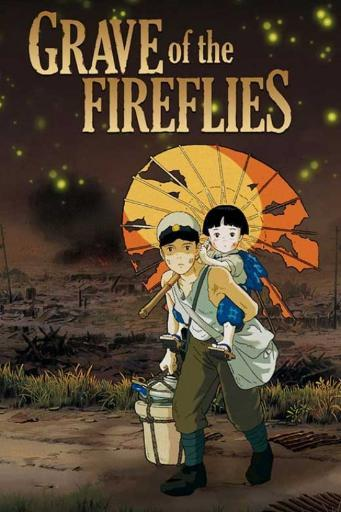 Grave of the Fireflies Movie Poster (11 x 17) TBAGHD8Y9RNMDDP0