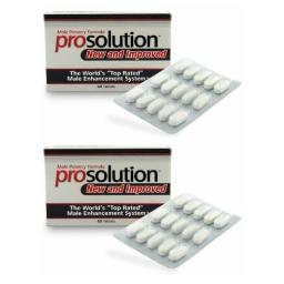 PROSOLUTION PILLS 2 Months Male Enhancement BIGGER HARDER Penis Enlargement 039853197889
