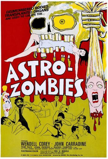 The Astro-Zombies 1968 Movie Poster Masterprint UD7WFAAQVOPJIJP9