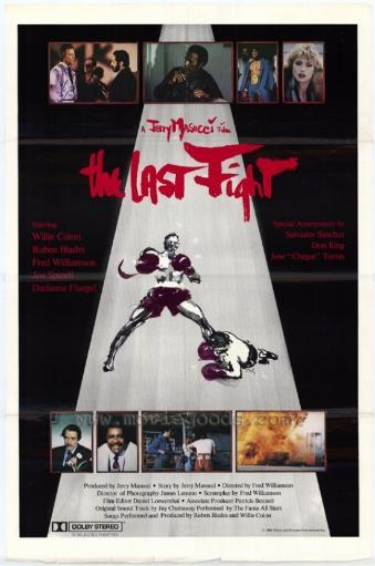 The Last Fight Movie Poster Print (27 x 40)