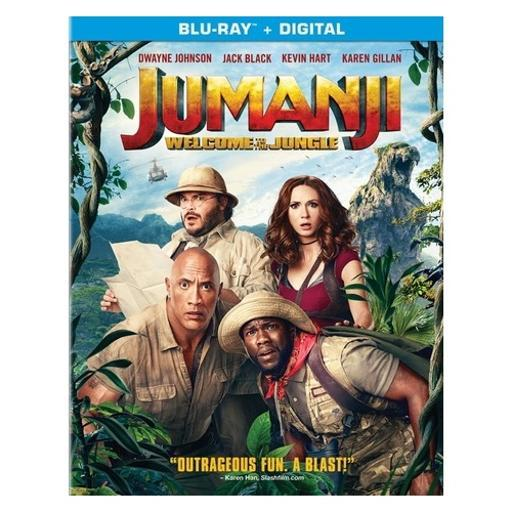 Jumanji-welcome to the jungle (blu ray w/digital) CMXFMB0ZY0RGS1I6