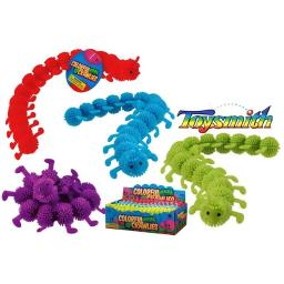 Toysmith 08524 Colorful Crawlies Toys, Assorted Colors