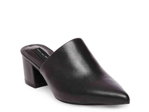 77c1ae95edf Steven by Steve Madden Womens Simone Leather Pointed Toe Mules