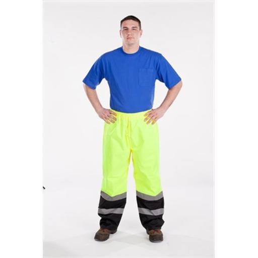 Utility Pro Wear UHV452P-M-28 High Visibility Nylon Pant Class E - Medium, Yellow