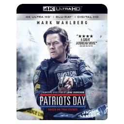 Patriots day (blu-ray/4kuhd mastered/ultraviolet/digital hd) BR51513