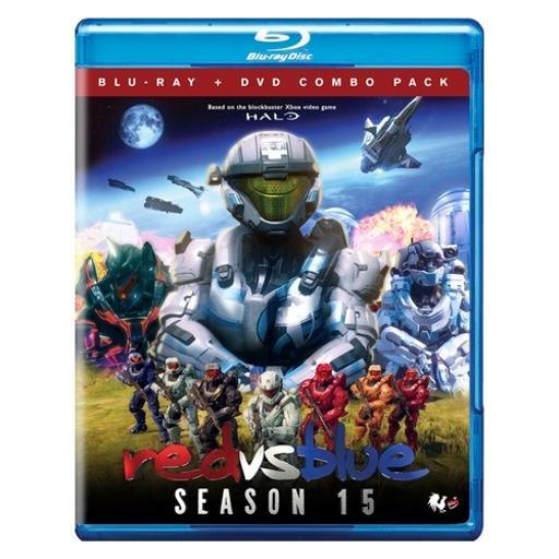 Red vs blue-season 15 (blu ray/dvd combo) (ws/2discs) X9CFDPCUAHABZ8TH