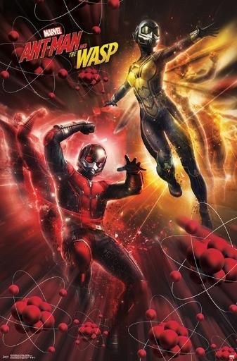 Ant-Man and The Wasp - Subatomic Poster Print