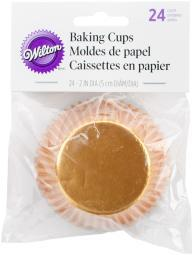 Standard Baking Cups-Gold Foil 24/Pkg W415SC-206