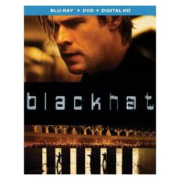 BLACKHAT (BLU RAY/DVD COMBO W/DIGITAL HD) 25192267758