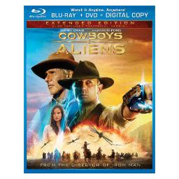 Cowboys & aliens (blu ray/dvd 2 disc combo) BR61119119