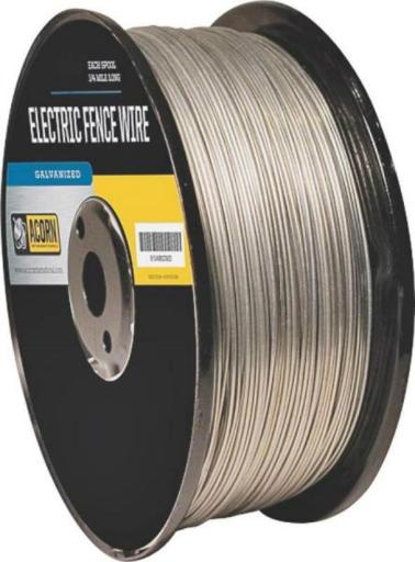 Acorn Efw1914 Galvanized Fence Wire, 19 Gauge, 1/4 Mile