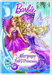 Barbie mariposa & fairy princess (dvd) D63175600D