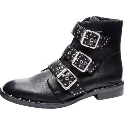 Chinese Laundry Womens Chelsea Faux Leather Zip-Up Ankle Boots