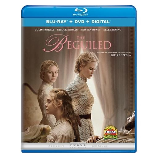 Beguiled (2017) (blu ray/dvd combo w/digital hd) VVGYBKOLRSMGKTT8