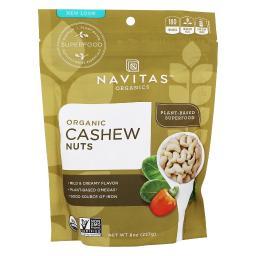 Navitas Organics - Organic Cashew Nuts - 8 oz.