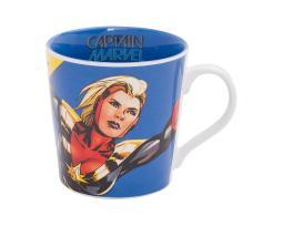Marvel Captain Marvel 12 oz. Ceramic Mug Comics MCU Brie Larson Carol Danvers