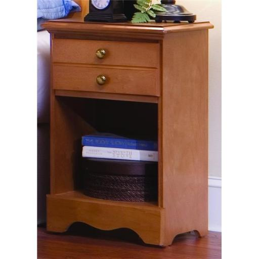 Common Sense One Drawer Nightstand In Salem Maple
