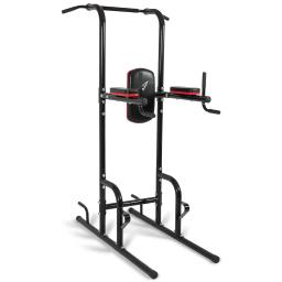 Akonza© Heavy Duty Dip Station Power Tower Pull Push Chin Up Bar Home Gym Fitness Core