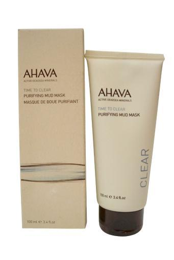 Ahava Time to Clear Purifying Mud Mask, 3.4 Oz