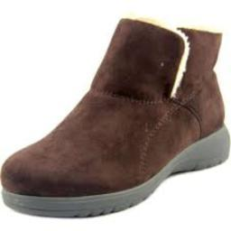 Bees By Beacon Womens Whisper Suede Closed Toe Ankle Cold Weather Boots
