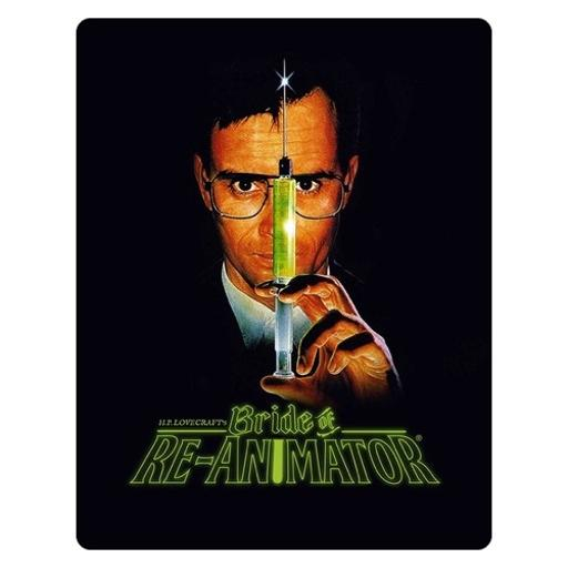 Bride of re-animator (blu-ray/limited edition steelbook) nla out of print 1299324