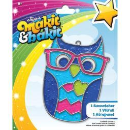 Makit & Bakit Suncatcher Kit Owl