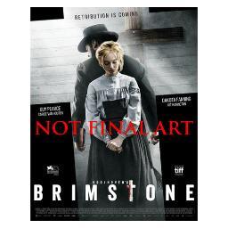 Brimstone (blu ray/dvd combo) (2discs/2.35/ws/dol dig 5.1) BREO8370