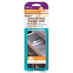Kidco s3313 white kidco adhesive mount cabinet and drawer lock 3 pack white