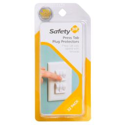 Safety 1st White Plastic Outlet Protector 32 pk - Case Of: 4; Each Pack Qty: 32; Total Items Qty: 128