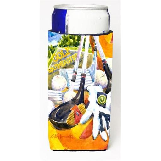 Carolines Treasures 6070MUK Golf Clubs Ball And Glove Michelob Ultra s For Slim Cans - 12 oz.