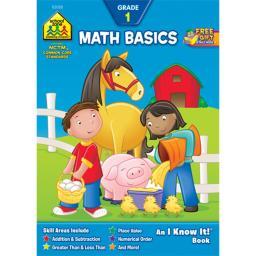 Curriculum Workbook Math Basics - Grade 1