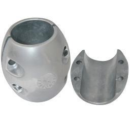 """Tecnoseal x15 shaft anode zinc 3-1/2"""" shaft"""