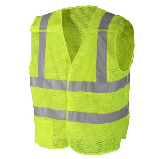 Rothco 5-point Breakaway High Visibility Safety Vest, Law Enforcement, Traffic