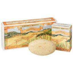 Caswell Massey Oatmeal Garden Soap 3 Cakes