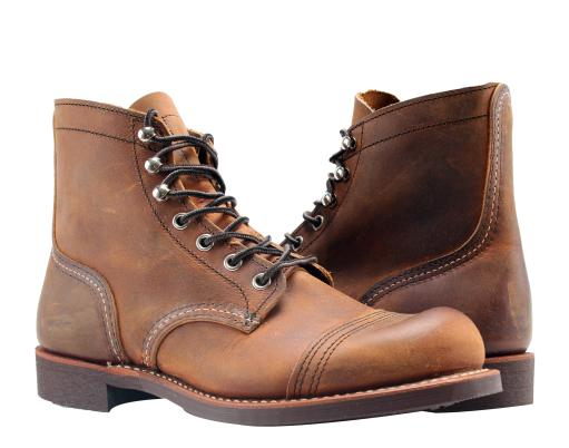 Red Wing Heritage Iron Ranger 6-Inch 3066 Black Boundary Women/'s Boots 03066