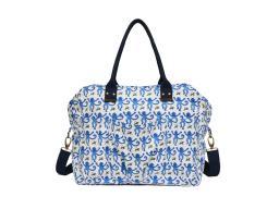 Roberta Roller Rabbit Women's Monkey Weekender Bag One Size Blue