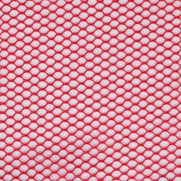 "ByAnnie's Lightweight Mesh Fabric 18""X54"" 100% Polyester Atom Red"