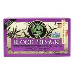Triple Leaf Tea Blood Pressure - 20 Tea Bags - Case of 6