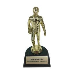 Cutest Redhead In The Office Dundie Award Trophy Erin Hannon Gift Dunder Mifflin