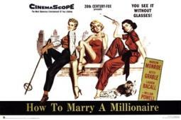 How to Marry a Millionaire Poster Poster Print SCO1416