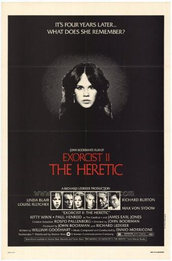Exorcist 2: The Heretic Movie Poster Print (27 x 40) RMSJIFJXMJAULXI8
