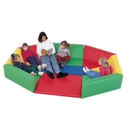 Childrens Factory CF321-911 Soft Octagonal Rainbow Hollow