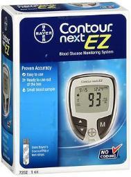 Contour Next Ez Blood Glucose Monitoring System Kit - 1 Each