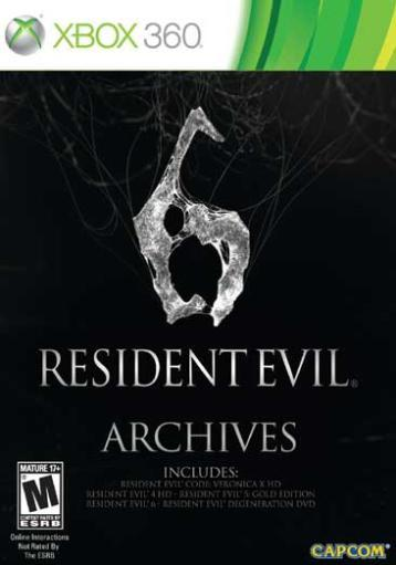 Resident evil 6 archives (m) EL7DXKRPODQLLYSJ
